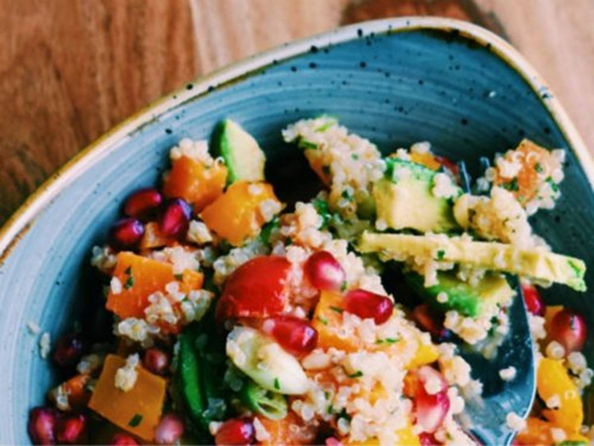 recipe image Avocado-Quinoa Salat